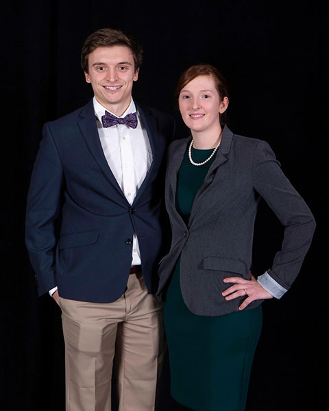 Two University of Evansville Civil Engineering Students Awarded Scholarships by the Asphalt Pavement Association of Indiana