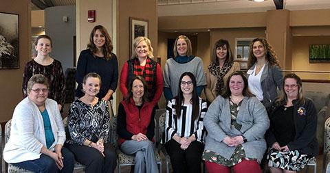 several women