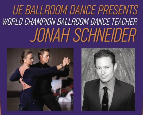 World Champion Ballroom Dance Teacher Jonah Schneider