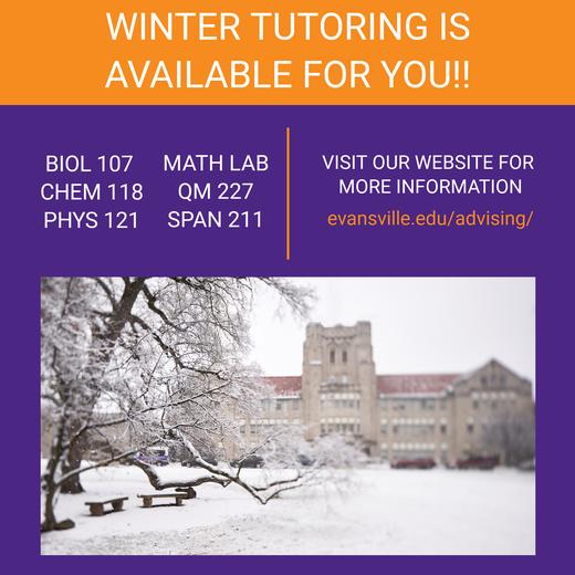 tutoring info.