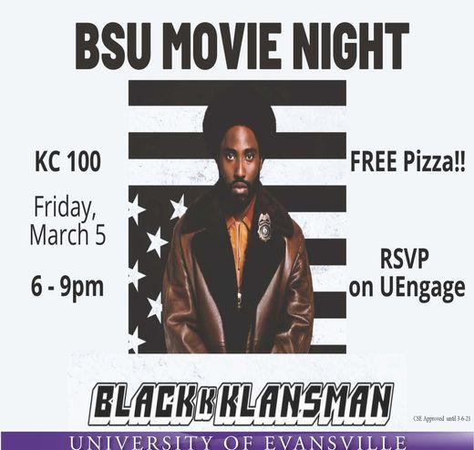 movie flyer.