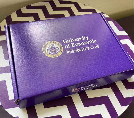 purple box.