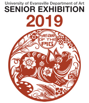 Senior Exhibition 2019 - Year of the Pig Logo