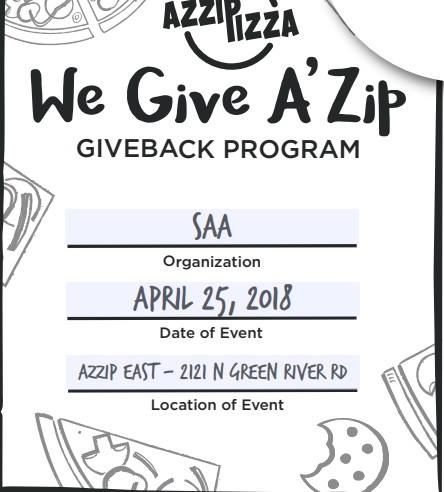 Azzip Pizza Giveback Image
