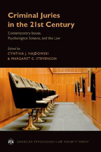 Criminal juries in the 21st Century Book Cover