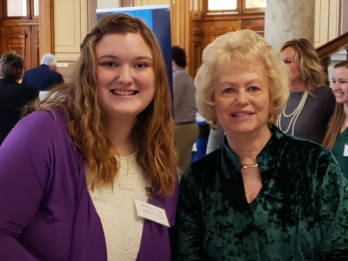 Education Ambassadors at Statehouse