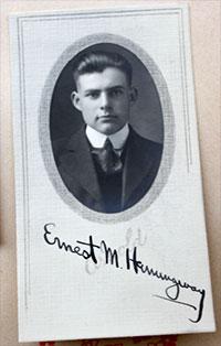 Ernest Hemingway's Signature