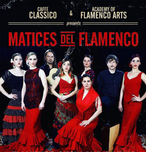 Matices Del Flamenco poster