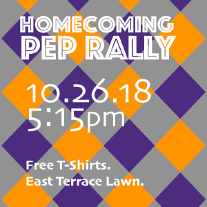 Homecoming Pep Rally Poster