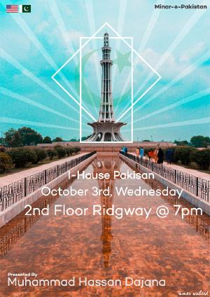 I-House Pakistan Poster