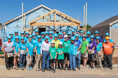 Jimmy Carter and House Builders