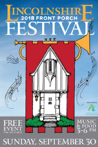 Lincolnshire Front Door Festival Poster. Same text appears in article.