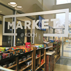Market @ Koch Sign