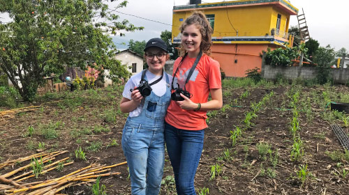 Mullen and Ackerman in Guatemala