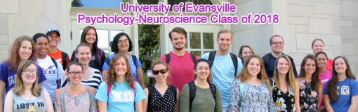 Psychology and Neuroscience class of 2018
