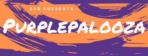 SAB Presents: Purplepalooza