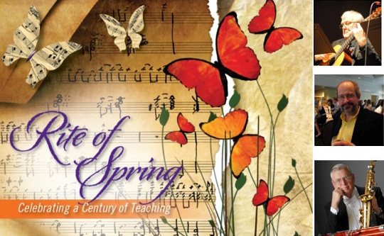 Rite of Spring. Celebrating a Century of Teaching.