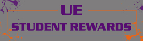 UE Student Rewards Logo
