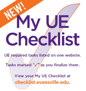 My UE Checklist checkmark graphic. information on graphic appears in article text.