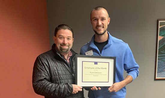 UE Employee Excellence Award Winner